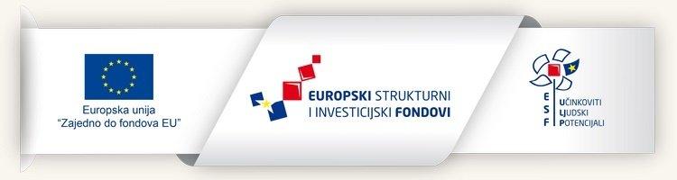 Logo EU, Strukturmo fondovi, ESF
